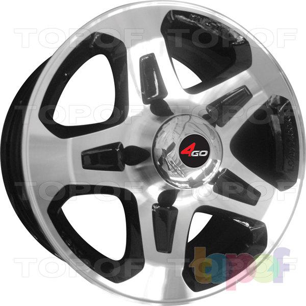 Колесные диски 4GO LC76. Изображение модели #1