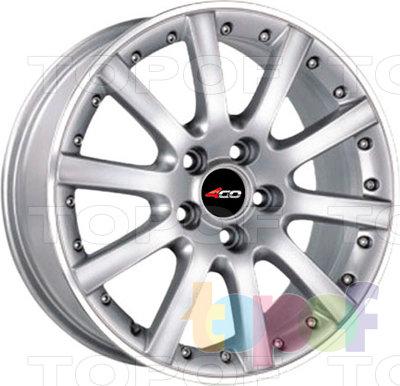 Колесные диски 4GO P-1007. Изображение модели #1