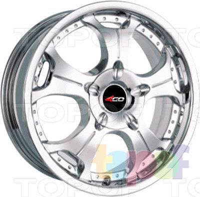 Колесные диски 4GO P-5006. Изображение модели #1