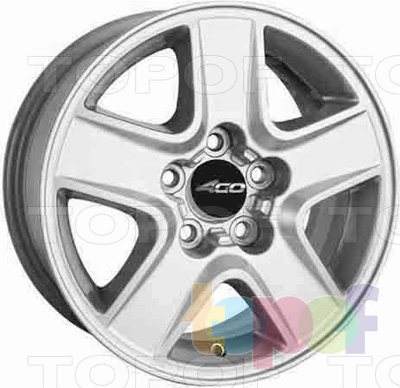 Колесные диски 4GO P-5044. Изображение модели #1
