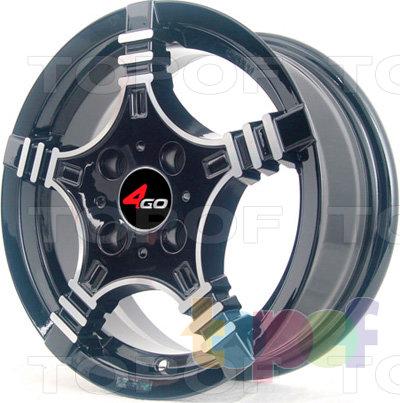 Колесные диски 4GO PDW-240. Изображение модели #1