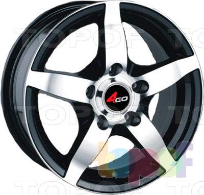 Колесные диски 4GO PDW-599. Изображение модели #1