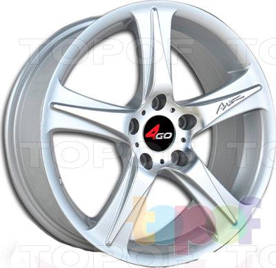 Колесные диски 4GO RU008. Изображение модели #1