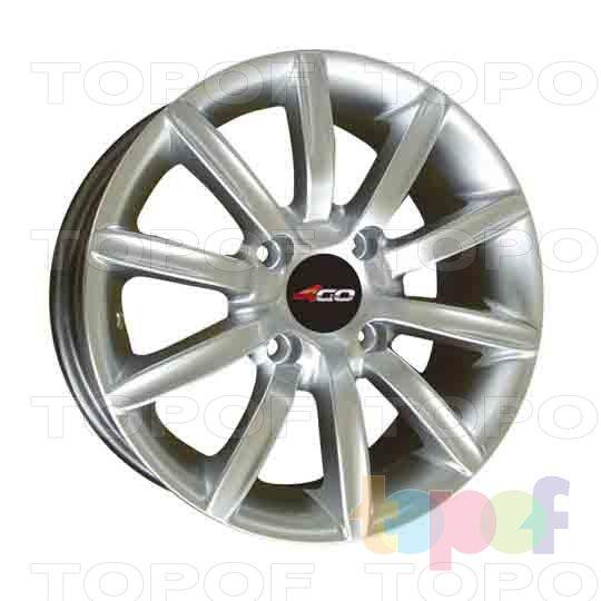 Колесные диски 4GO RV101. Изображение модели #1