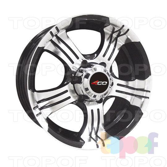 Колесные диски 4GO RV670. Изображение модели #1