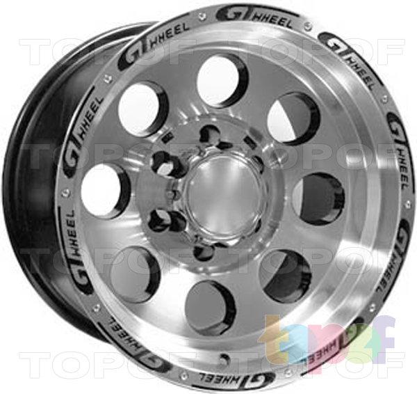 Колесные диски 4GO XS741. Изображение модели #1