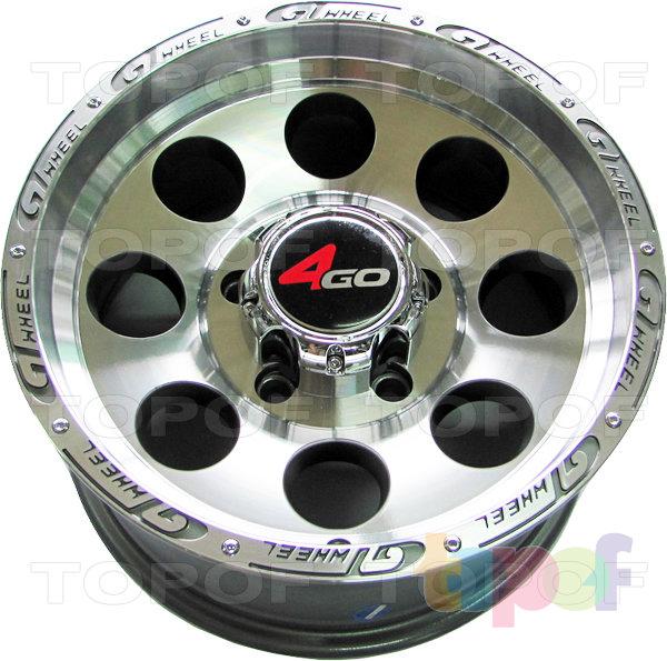 Колесные диски 4GO XS741. Изображение модели #2
