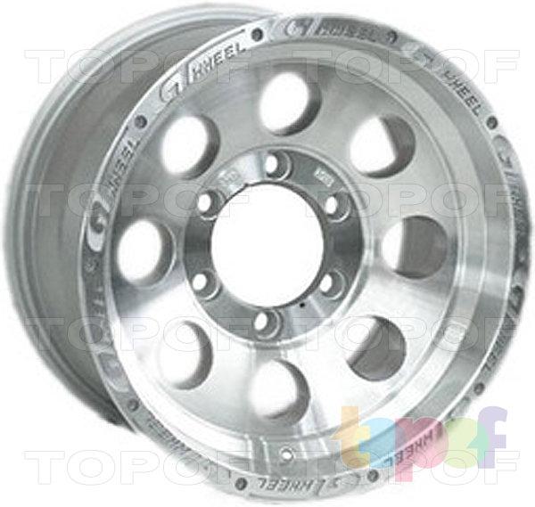 Колесные диски 4GO XS741. Изображение модели #3