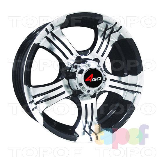 Колесные диски 4GO Y670. Изображение модели #1