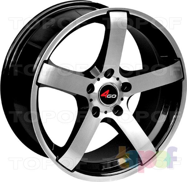 Колесные диски 4GO YQ10. Изображение модели #1