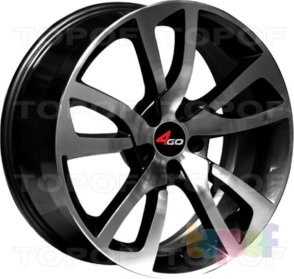 Колесные диски 4GO YQ13. Изображение модели #1