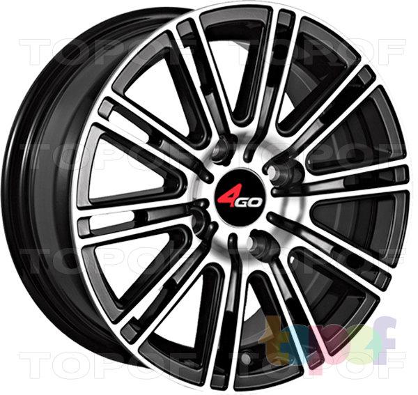 Колесные диски 4GO YQ2. Изображение модели #1