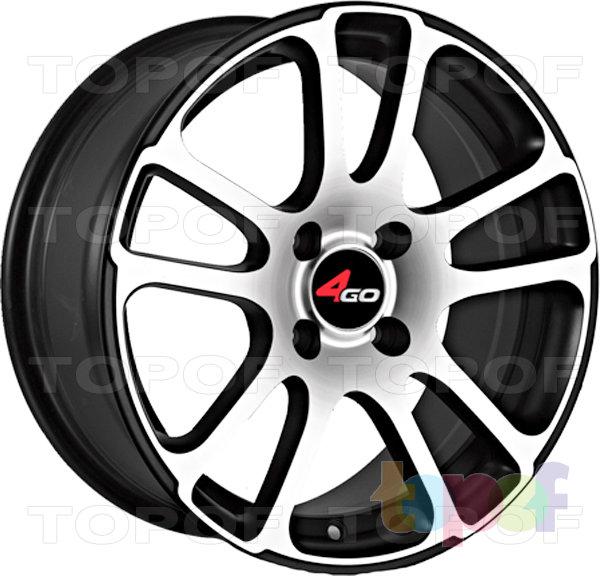 Колесные диски 4GO YQ4. Изображение модели #1