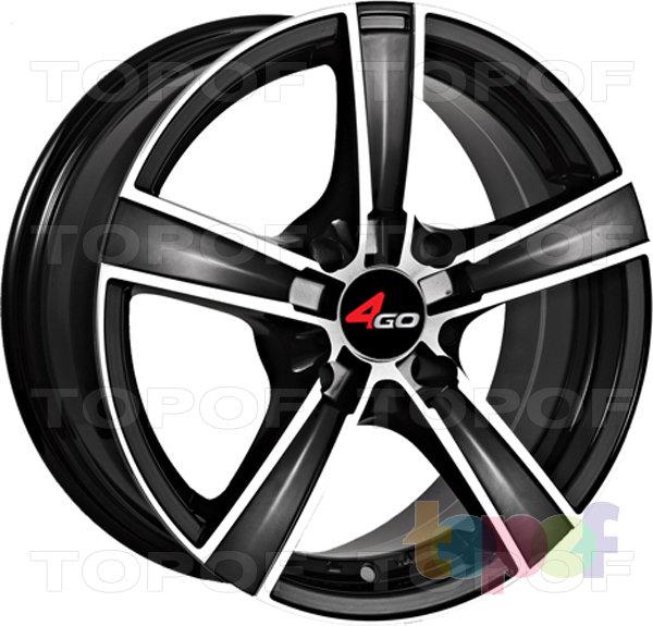 Колесные диски 4GO YQ7. Изображение модели #1