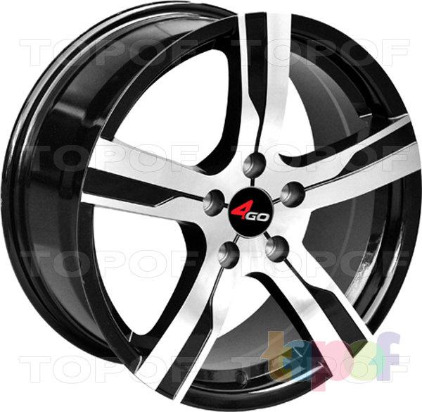 Колесные диски 4GO YQ9. Изображение модели #1