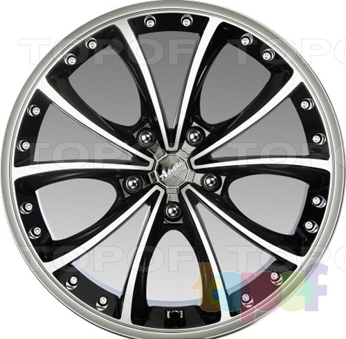 Колесные диски Advanti Eros I SJ15. Изображение модели #2
