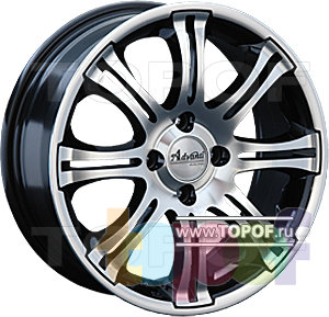 Колесные диски Advanti F6520. Изображение модели #1