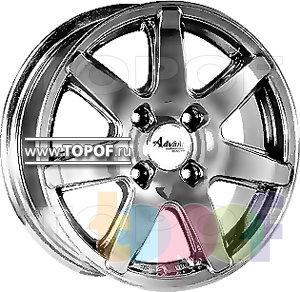 Колесные диски Advanti SE83. Изображение модели #1
