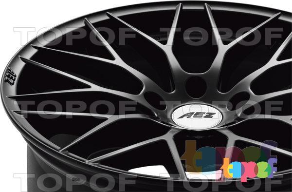 Колесные диски AEZ Antigua dark. Изображение модели #4