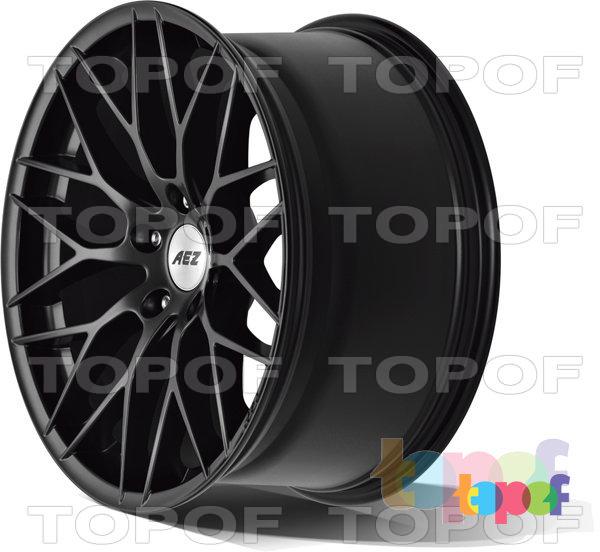Колесные диски AEZ Antigua dark. Изображение модели #6
