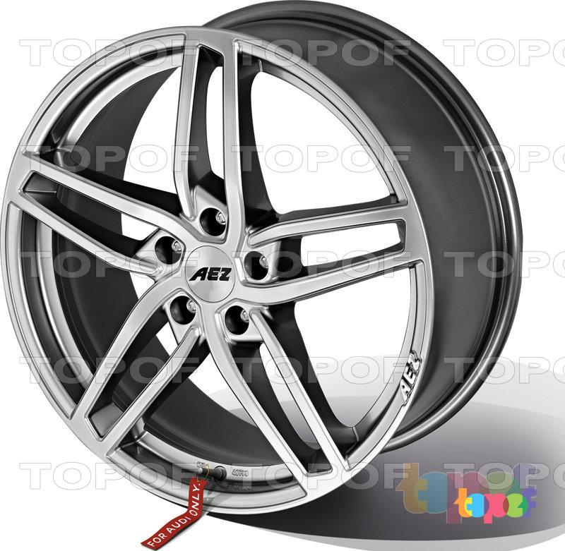 Колесные диски AEZ Genua. Серебряный