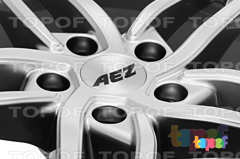 Колесные диски AEZ Genua. Silver