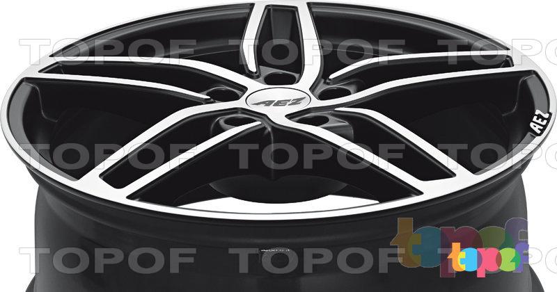 Колесные диски AEZ Genua. Изображение модели #5