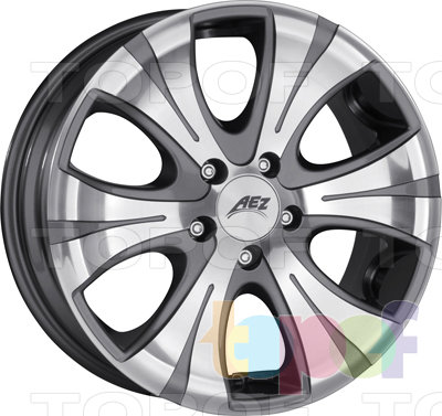 Колесные диски AEZ Gizeh. Изображение модели #1