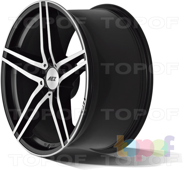Колесные диски AEZ Portofino dark. Изображение модели #3