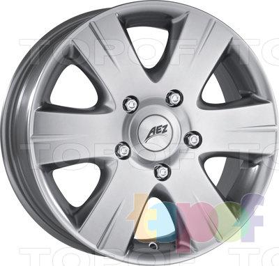 Колесные диски AEZ Quadro. Изображение модели #1
