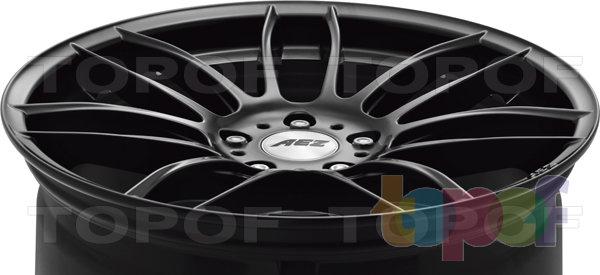 Колесные диски AEZ Sydney dark. Изображение модели #5