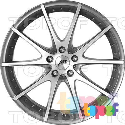 Колесные диски AEZ Tidore (темный). Изображение модели #2