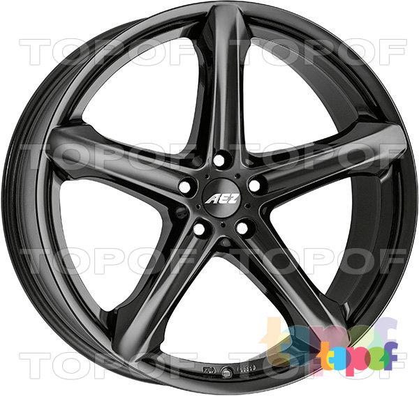 Колесные диски AEZ Yacht dark. Изображение модели #1