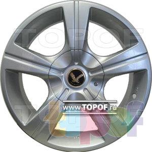 Колесные диски Aitl 5137. Изображение модели #1