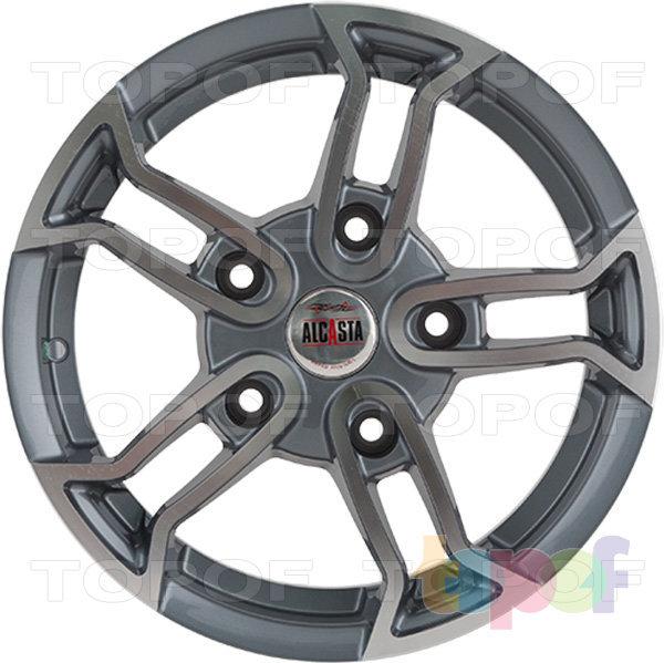Колесные диски Alcasta M18. Цвет GMF