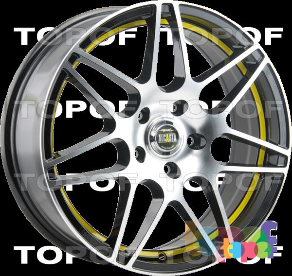 Колесные диски Alcasta M28. Цвет BKFYSI