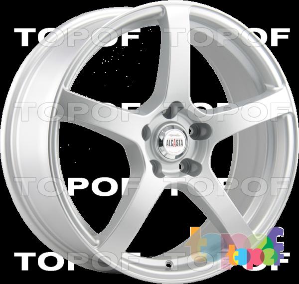 Колесные диски Alcasta M32. Цвет Silver