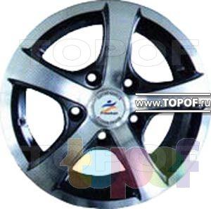 Колесные диски Aleks F5512. Изображение модели #1