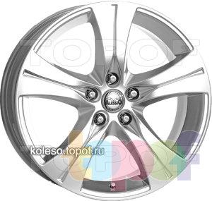 Колесные диски Alessio California. Изображение модели #1