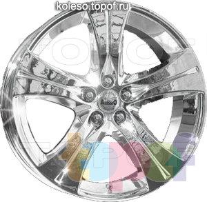 Колесные диски Alessio California. Изображение модели #2