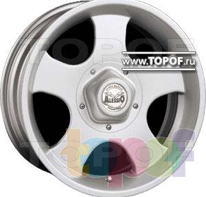 Колесные диски Alessio Daytona. Изображение модели #1