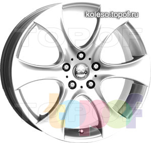 Колесные диски Alessio Mondial. Изображение модели #1