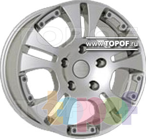 Колесные диски AllTech Phantom. Изображение модели #1