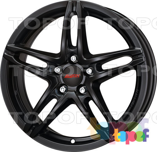 Колесные диски Alutec Poison. Цвет Racing Black