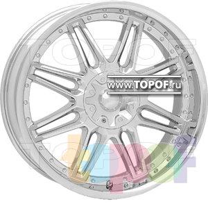 Колесные диски American Racing Cartel 628 (хром). Изображение модели #1
