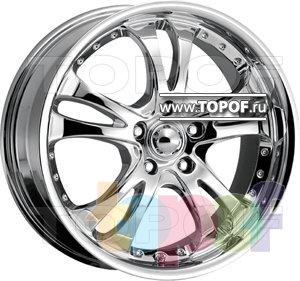 Колесные диски American Racing Casino 683 (хром). Изображение модели #1