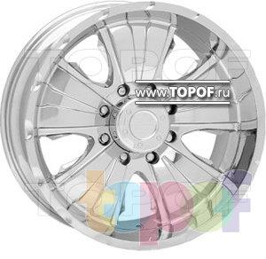 Колесные диски American Racing Dominator 1087. Изображение модели #1