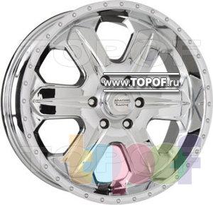 Колесные диски American Racing Fuel 619 (хром). Изображение модели #1