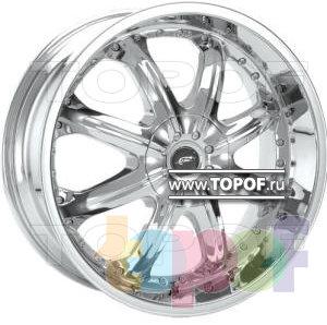 Колесные диски American Racing Octane 650 (хром). Изображение модели #1
