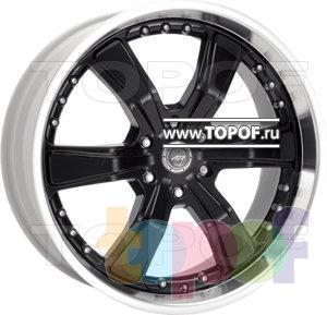 Колесные диски American Racing Razor Six 300. Изображение модели #1